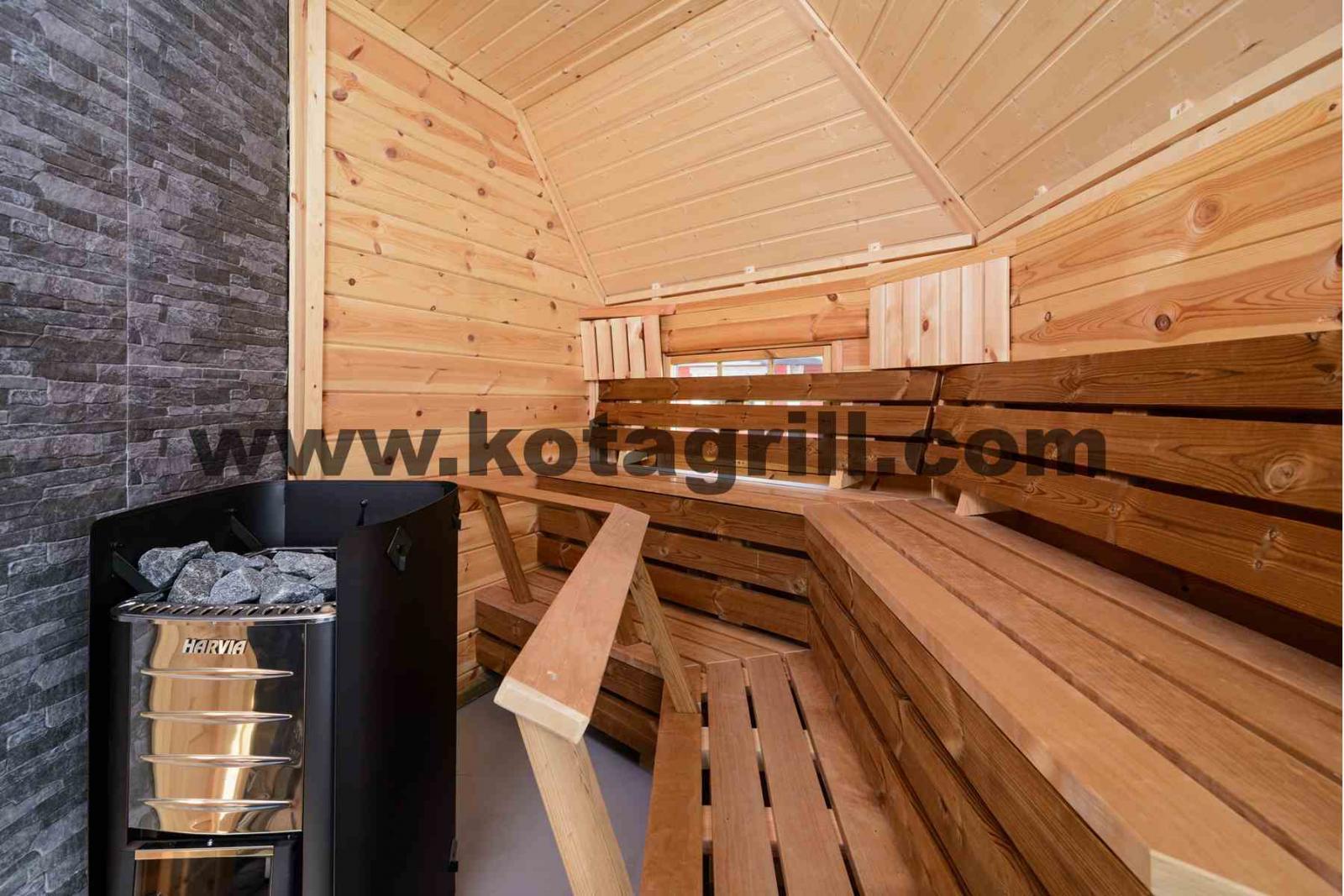 Construire Un Sauna Finlandais sauna finlandais - grill et chalets finlandais - kota grill